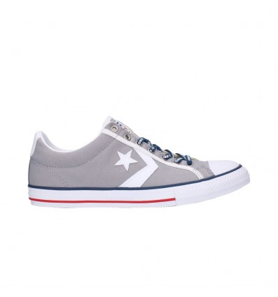 CONVERSE 663991 Mujer Gris