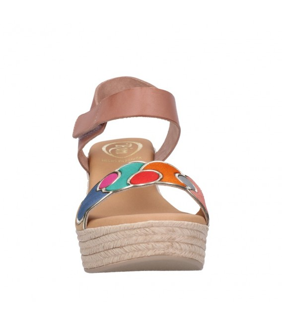 OH MY SANDALS 4712 NUDE COMBI Mujer Nude