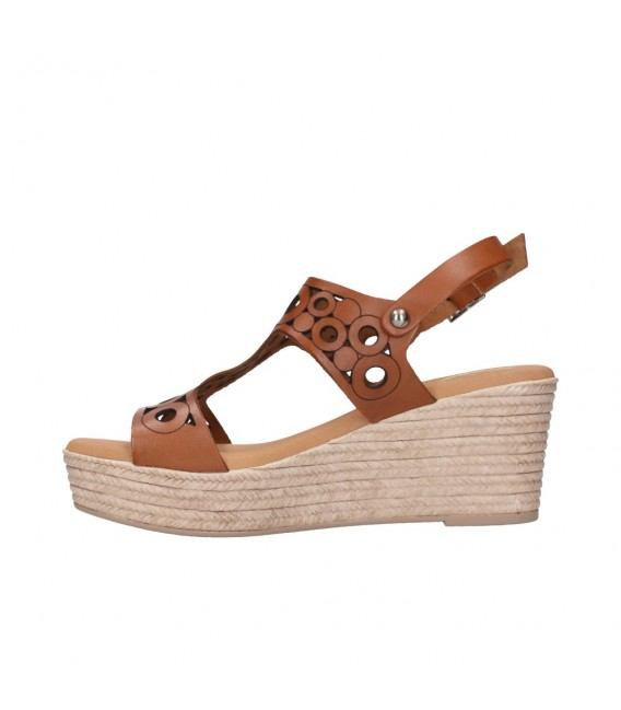 OH MY SANDALS 4705 ROBLE Mujer Cuero