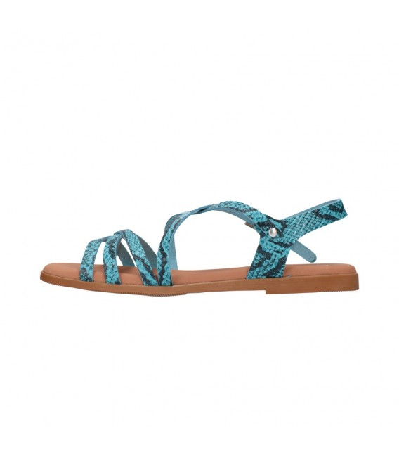 OH MY SANDALS 4640 TODO REPTILE CARIBE Mujer Azul