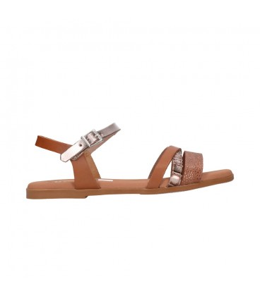 OH MY SANDALS 4646 ROBLE COMBI Mujer Cuero