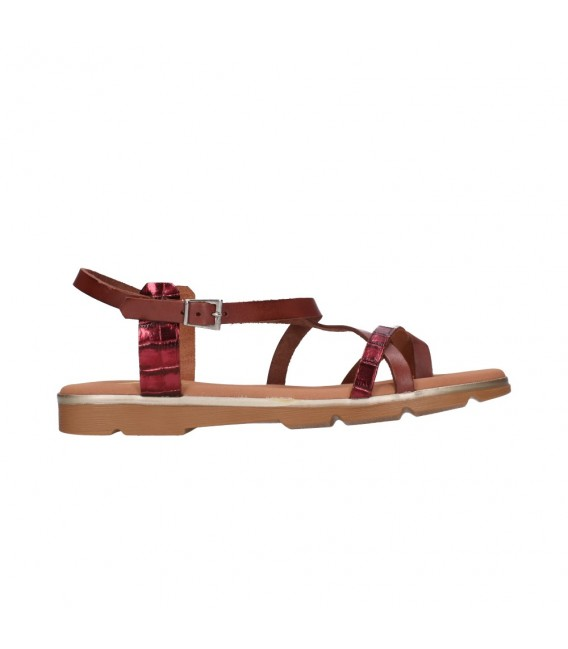 OH MY SANDALS 4651 CAOBA MULTI Mujer Marron