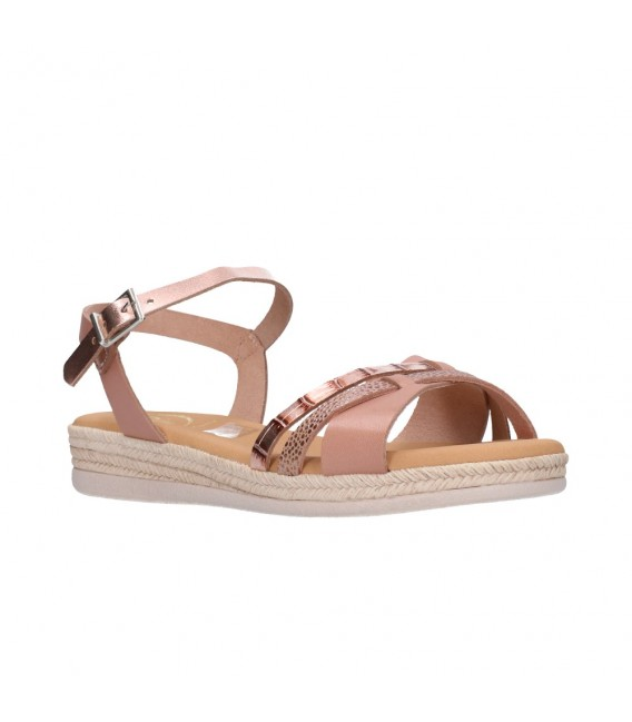 OH MY SANDALS 4666 NUDE COMBI Mujer Nude