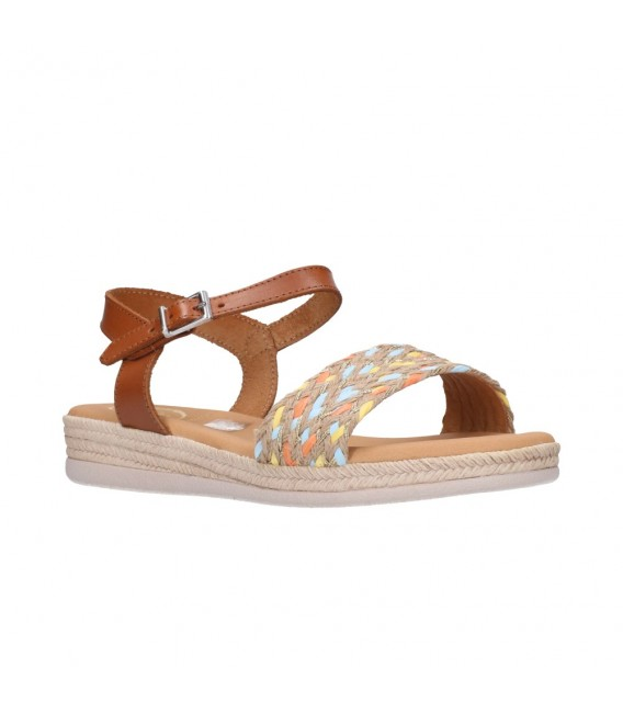 OH MY SANDALS 4667 ROBLE COMBI Mujer Cuero