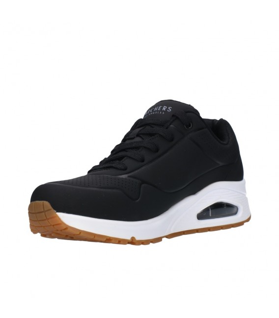 SKECHERS STAND ON AIR 73690 BLK Mujer Negro