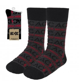 CALCETINES ACDC Gris